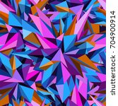abstract geometric asymmetric... | Shutterstock .eps vector #704900914