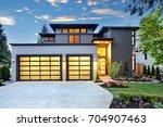 beautiful exterior of...   Shutterstock . vector #704907463