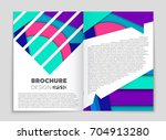 abstract vector layout... | Shutterstock .eps vector #704913280