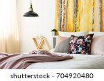 inviting and warm contemporary... | Shutterstock . vector #704920480