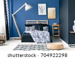 modern bedroom in shades of...