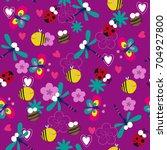 seamless bright pattern for...   Shutterstock .eps vector #704927800