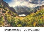 Mountain Panorama Landscape...
