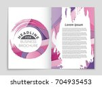 abstract vector layout... | Shutterstock .eps vector #704935453