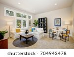 family room and playroom... | Shutterstock . vector #704943478