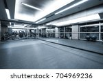 fitness club in luxury hotel...   Shutterstock . vector #704969236
