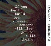 inspirational quote. best... | Shutterstock . vector #704979394