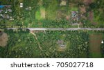 aerial top view top view of the ... | Shutterstock . vector #705027718