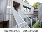 house with beautiful swedish...   Shutterstock . vector #705034900