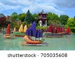montreal canada 09 12 16 ... | Shutterstock . vector #705035608