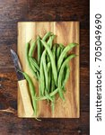 Green French Beans On Cutting...