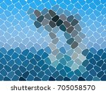 masonry. abstract background of ... | Shutterstock .eps vector #705058570