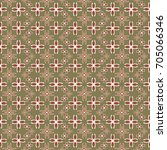 new color seamless pattern with ... | Shutterstock . vector #705066346