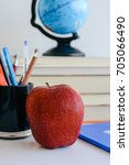 school supplies  back to school ... | Shutterstock . vector #705066490