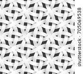weaving rounded paper stripes ... | Shutterstock .eps vector #705069538