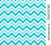 zig zag chevron mint green and... | Shutterstock .eps vector #705079780
