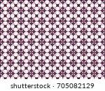 flower texture batik | Shutterstock .eps vector #705082129