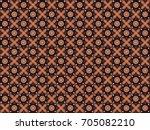 red jasmine batik pattern