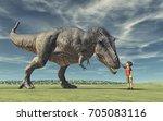 A Boy And A Big Dinosaur....