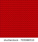 winter christmas x mas knit... | Shutterstock .eps vector #705088510