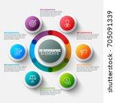 presentation business 3d...   Shutterstock .eps vector #705091339