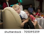 belarus  gomel  central wedding ... | Shutterstock . vector #705095359