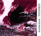 liquid acrylic paint  liquid...   Shutterstock . vector #705100810