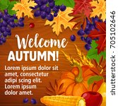 Welcome Autumn Poster Of Fall...