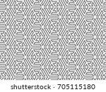 tessellation modern geometric... | Shutterstock .eps vector #705115180
