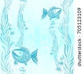 fish  algae  vesicles  ...   Shutterstock . vector #705123109