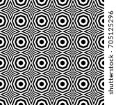 seamless pattern with black... | Shutterstock .eps vector #705125296
