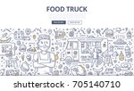 doodle vector illustration of...   Shutterstock .eps vector #705140710