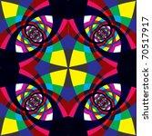 Kaleidoscope Geometric Seamles...