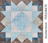 Patchwork Geometric Block From...