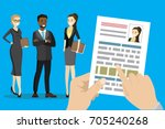 search job design concepts for... | Shutterstock .eps vector #705240268