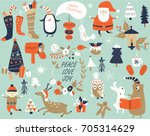 Christmas Cards With Cute Sant...