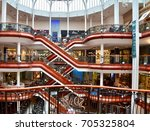 princes square shopping mall in ...   Shutterstock . vector #705325804