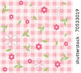 Pink Baby Seamless. Vector ...