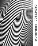 white black color. linear... | Shutterstock .eps vector #705334360