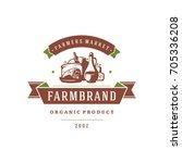 Farmers Market Logo Template...