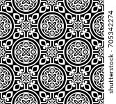 wallpaper in the style of... | Shutterstock .eps vector #705342274