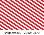 red and white diagonal stripes | Shutterstock .eps vector #705342370