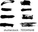 figured brush strokes brush and ...