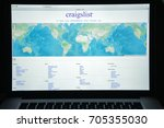milan  italy   august 10  2017  ...   Shutterstock . vector #705355030