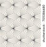 vector seamless pattern. modern ... | Shutterstock .eps vector #705386680