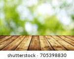 empty table for display montages | Shutterstock . vector #705398830