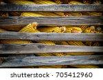 corn on the cob | Shutterstock . vector #705412960