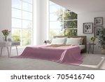 inspiration of white minimalist ...   Shutterstock . vector #705416740