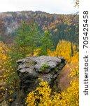 sandstone rock formation in the ...   Shutterstock . vector #705425458