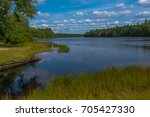photo of batso lake in historic ... | Shutterstock . vector #705427330